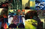 eyvind earle bushy tree compilation